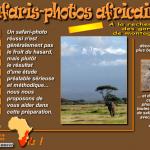 Safaris photos africains