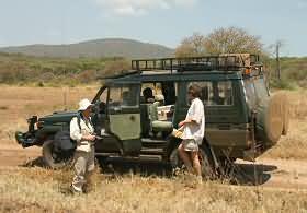 4 x 4 en safari
