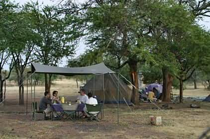 Camp au Serengeti