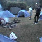 monter la tente chaque jour
