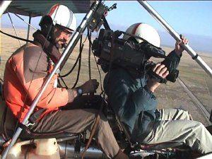 En plein tournage