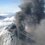 Eruption Oldonyo Lengai