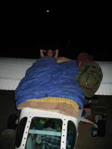 Un avion en guise de lit