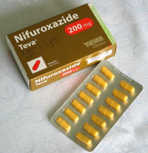 Nifuroxazide : Médicament de traitement contre la diarrhée
