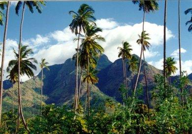 Les montagnes de Matombo